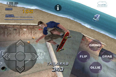 Tony Hawk's Pro Skater 2 for iPhone - MB Image