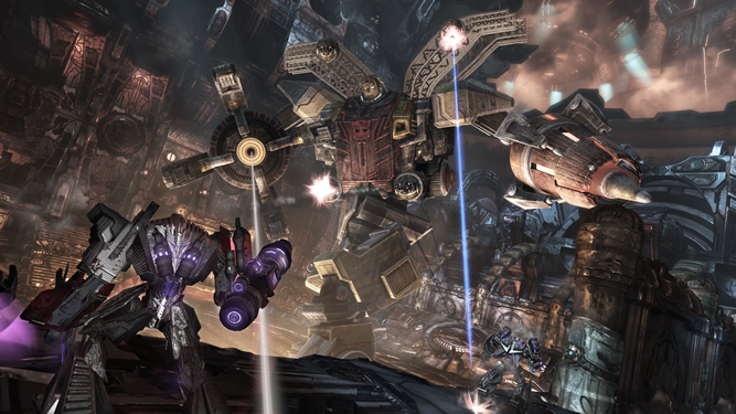 Transformers: War for Cybertron Screenshot - 868592