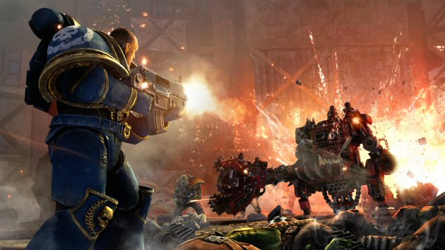 Warhammer 40,000: Space Marine - Feature