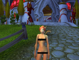 World of Warcraft - Wrath of The Lich King Nude Patch