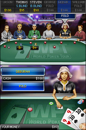 World Poker Tour Texas Hold 'Em - NDS Image