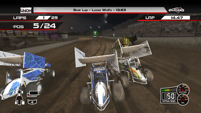 World Of Outlaws Sprint Cars Image