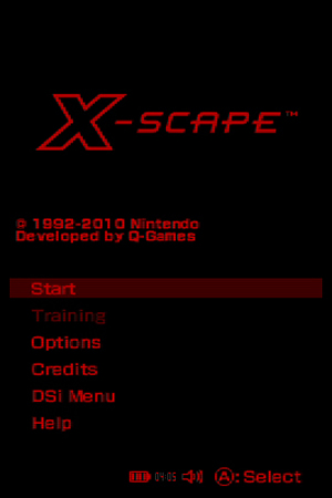 X-Scape - NDS Image