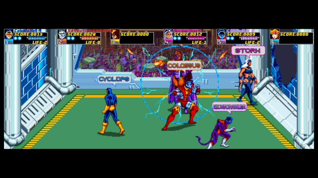 X-Men: The Arcade Game - Feature