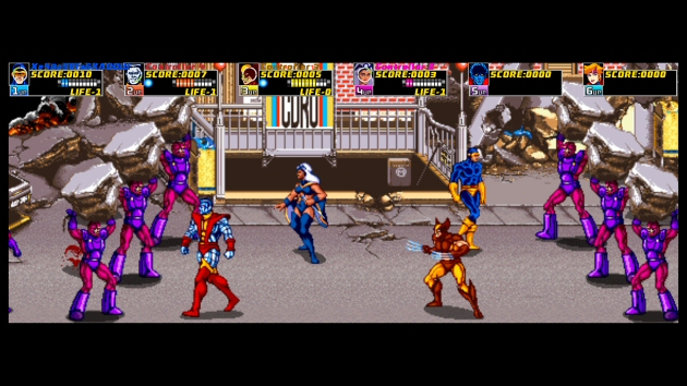 X-Men: The Arcade Game Image