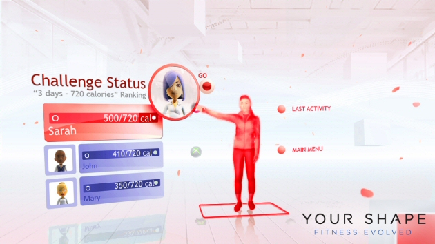 Your Shape: Fitness Evolved Screenshot - 868106