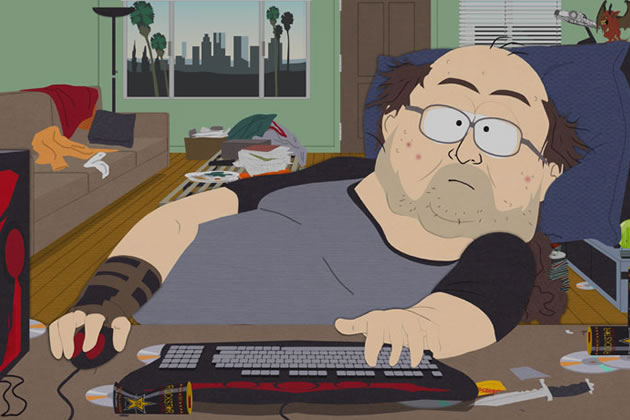 Southpark World of Warcraft nerd