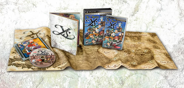 Ys SEVEN Limited Collector's Edition Boxart