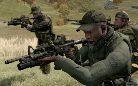 ArmA II Patch 1.00 - 1.07