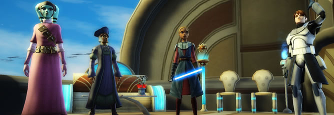 Star Wars: Clone Wars Adventures Screenshot - 800531