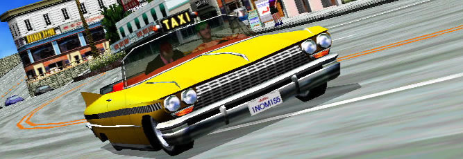 Crazy Taxi - Feature