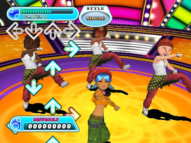 DanceDanceRevolution Hottest Party 3 Screenshot - 776882