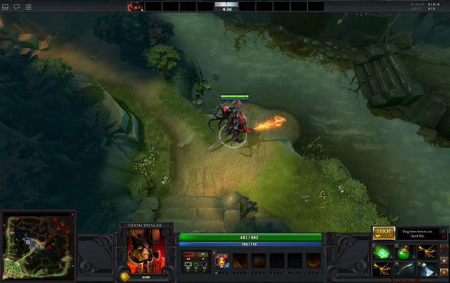 Dota screenshot 3