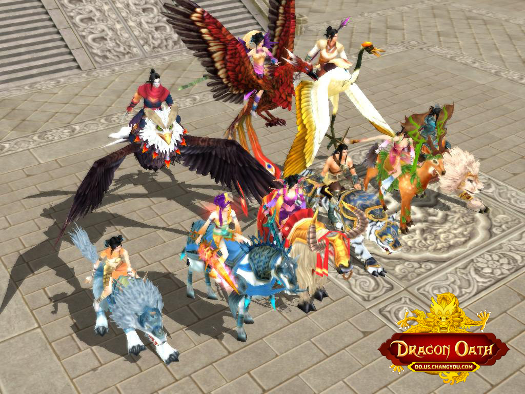 Dragon Oath Online Client