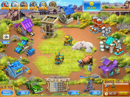 Farm Frenzy 3 Madagascar Demo
