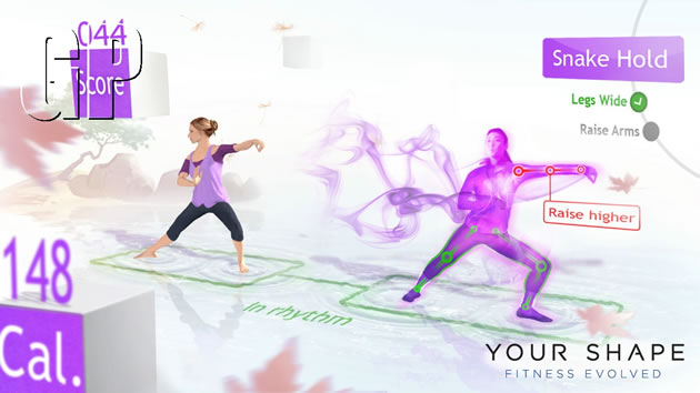 Your Shape: Fitness Evolved Screenshot - 867206
