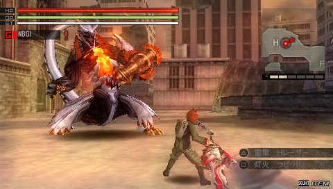 God Eater Burst - Feature