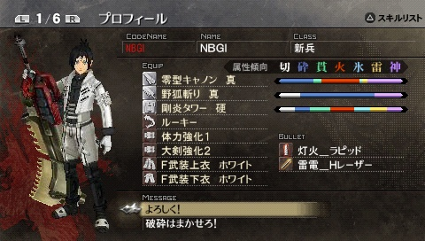 God Eater Burst Image