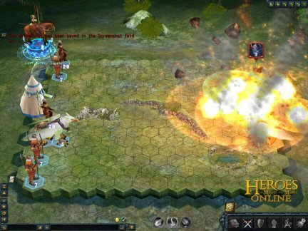 Heroes of Might and Magic Online Client Image