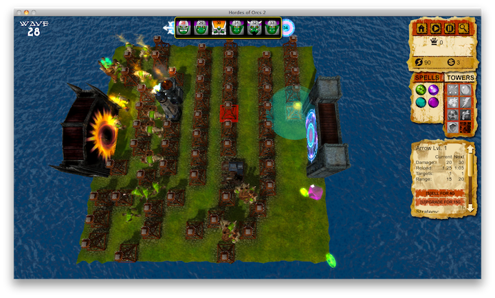 Hordes of Orcs 2 Demo Image