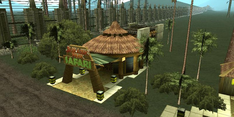 GTA San Andreas - Jurassic Park: Operation Andreas
