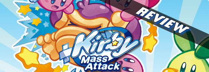 Kirby Mass Attack - NDS Boxart