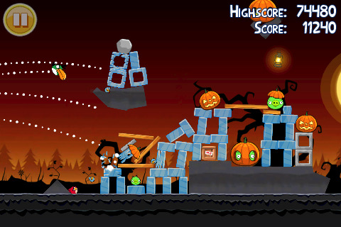 Angry Birds Screenshot - 808977