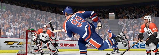 NHL Slapshot Boxart