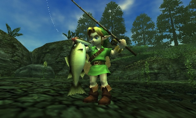 The Legend of Zelda: Ocarina of Time 3D Screenshot - 842915