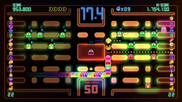 Pac-Man Championship Edition DX Screenshot - 812472