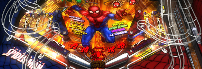 Marvel Pinball - Feature