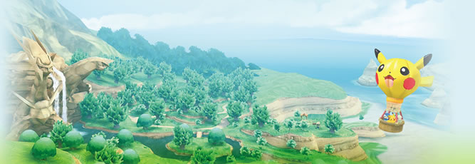 PokePark Wii: Pikachu&#x27;s Adventure Image