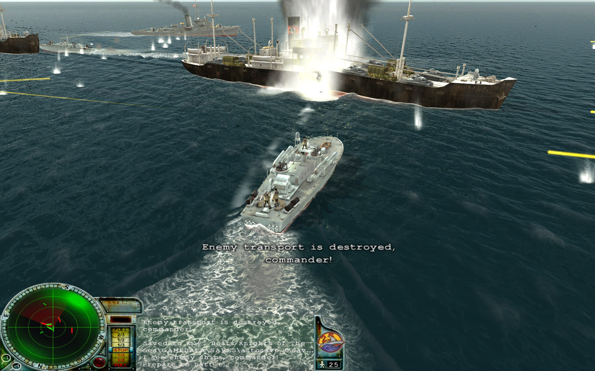 PT Boats: Knights of the Sea Demo