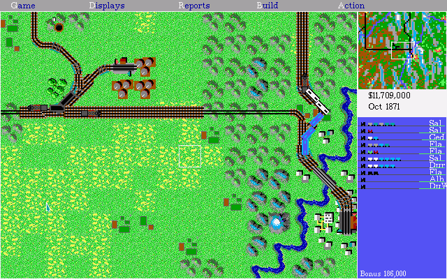 Railroad Tycoon Full Game Image