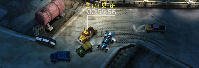 Reckless Racing HD - Feature