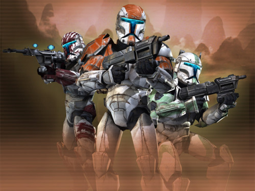Star Wars Republic Commando Demo