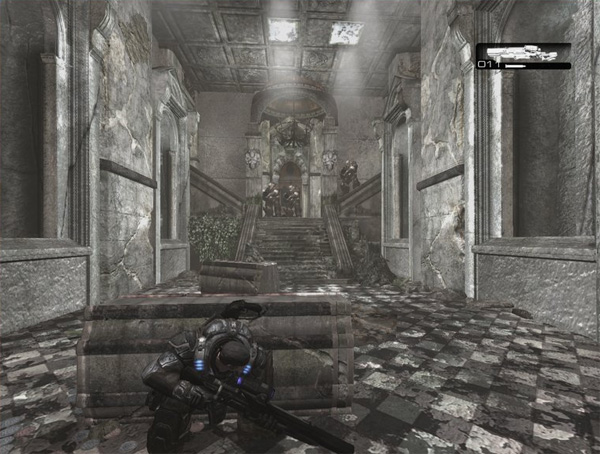 Gears of War Single Player 'Rubble' Map