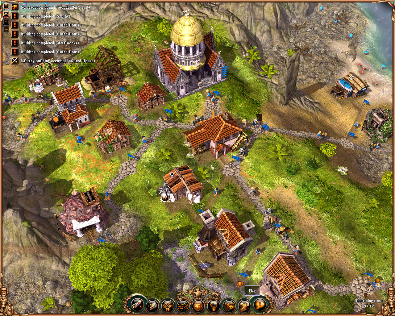 The SETTLERS II 10th Anniversary Boxart