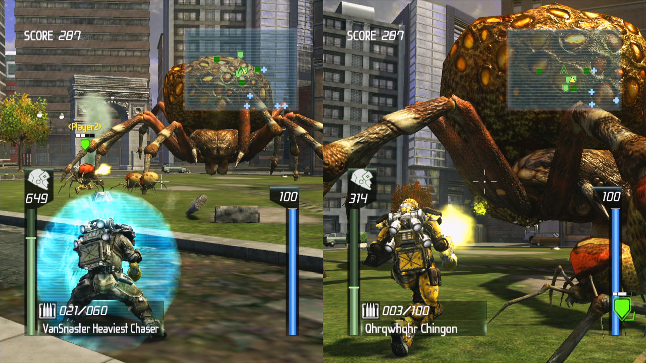 Earth Defense Force: Insect Armageddon Screenshot - 868463