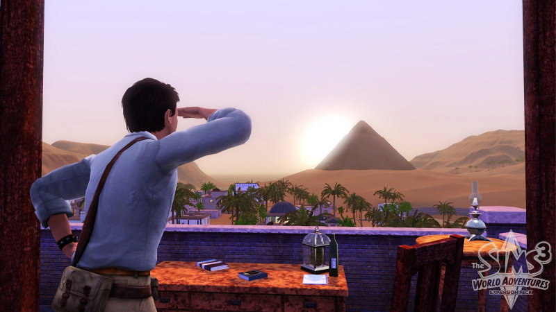 The Sims 3 World Adventures Image