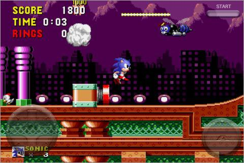 Sonic the Hedgehog iPhone - Feature