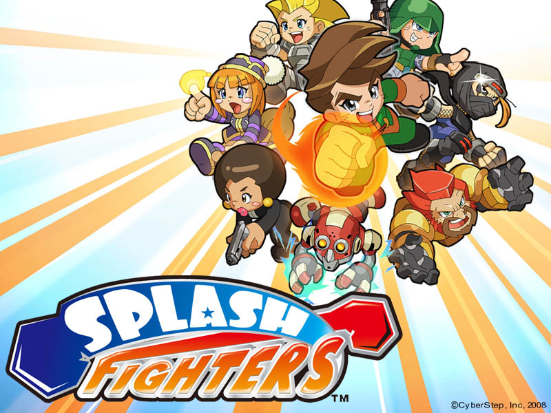 SplashFighters Boxart