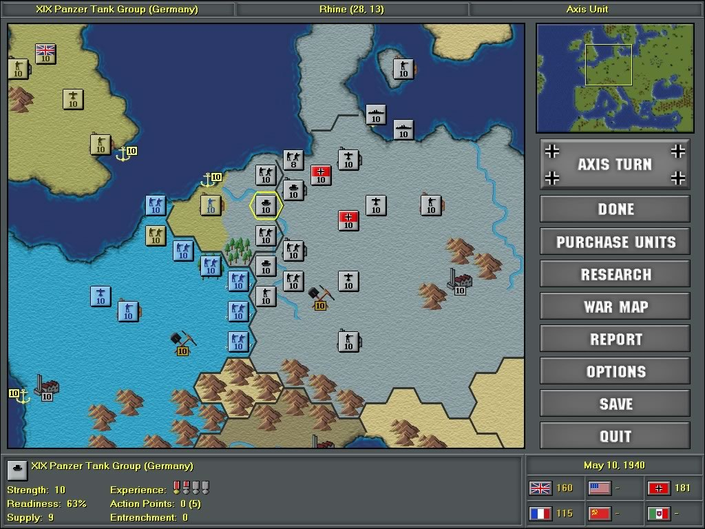 Strategic Command European Theater Demo Image