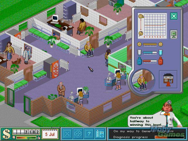 Theme Hospital Demo Image