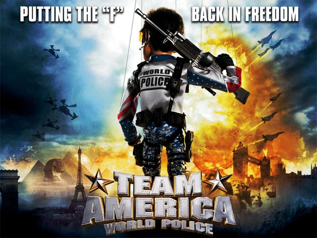 Top 10 movies to get you in the American Spirit - Team America: World Police