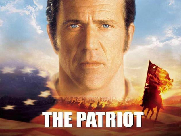 Top 10 movies to get you in the American Spirit - The Patriot