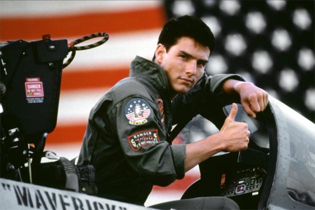 Top 10 movies to get you in the American Spirit  Top Gun