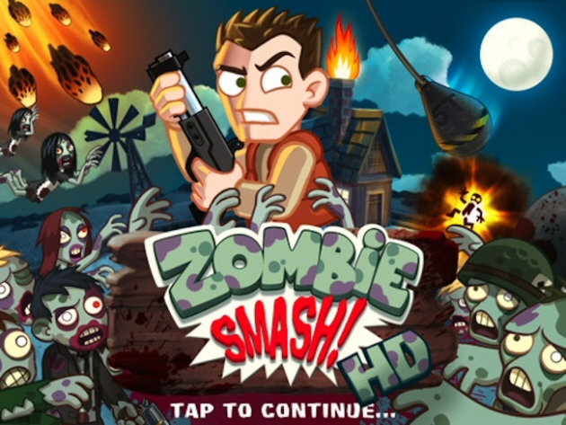 ZombieSmash! HD Boxart