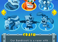 Crash Bandicoot Nitro Kart Image