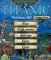 Hidden Expedition: Titanic Boxart